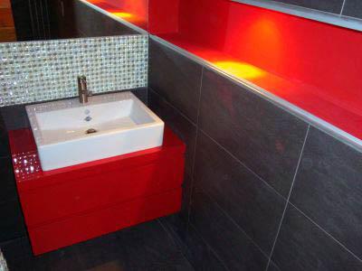Realizacje mebli łazienkowych